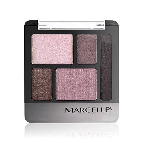 (Marcelle Quintet Eyeshadow, Plum Perfect, Hypoallergenic and Fragrance-Free, 0.20 oz)