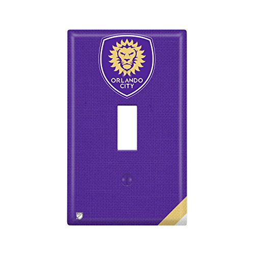 Orlando City SC Single Toggle Light Switch Cover - In Shops Orlando Sports