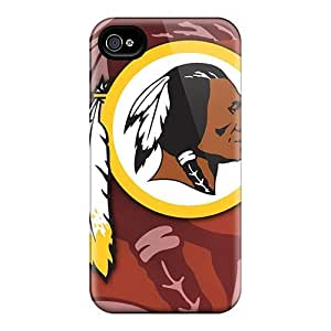 For Evanhappy42 Iphone Protective Cases, High Quality For Iphone 6 Plus Washington Redskins Skin Cases Covers