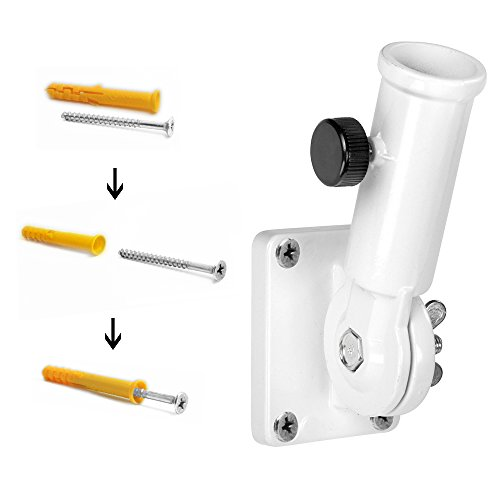 Anley Multi Position Flag Pole Mounting Bracket With