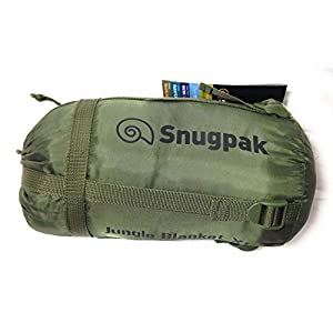 "Snugpak Jungle Blanket, Olive, 90"" x 72""/X-Large"