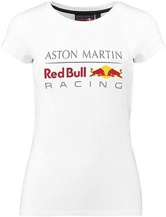 Aston Martin Camiseta Mujer Logo Patrocinador F1 Racing Formula Team RB