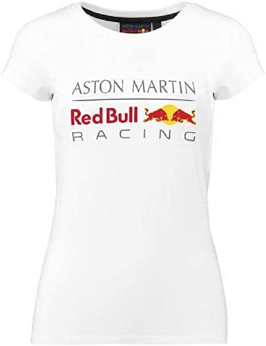 Formula 1 Tech Collection F1 Womens Large Logo T-Shirt White//Red