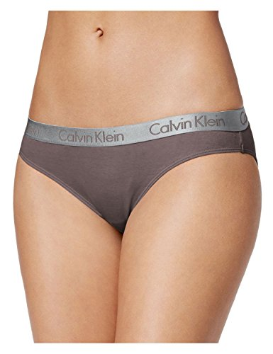 Calvin Klein Womens 3 Pack Radiant Cotton Bikini Slate Blue Pink Small