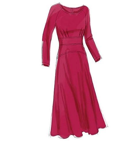 Vogue Patterns V8685 - Patrones de costura para vestidos de mujer(talla EE: 44-50): Amazon.es: Hogar