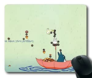 Totoro My Neighbor Totoro Animated Film Mouse Pad/Mouse Mat Rectangle by ieasycenter by ruishername