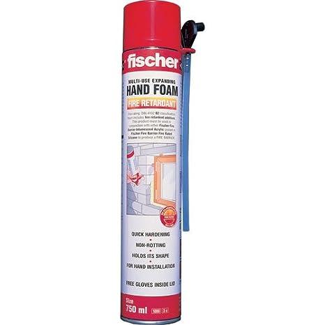 Fischer B2 estándar de espuma expansiva 750 ml: Amazon.es: Bricolaje y herramientas