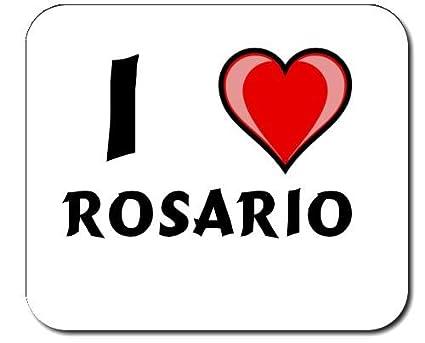 """Almohadilla con estampada de """"Te quiero"""" Rosario ..."""
