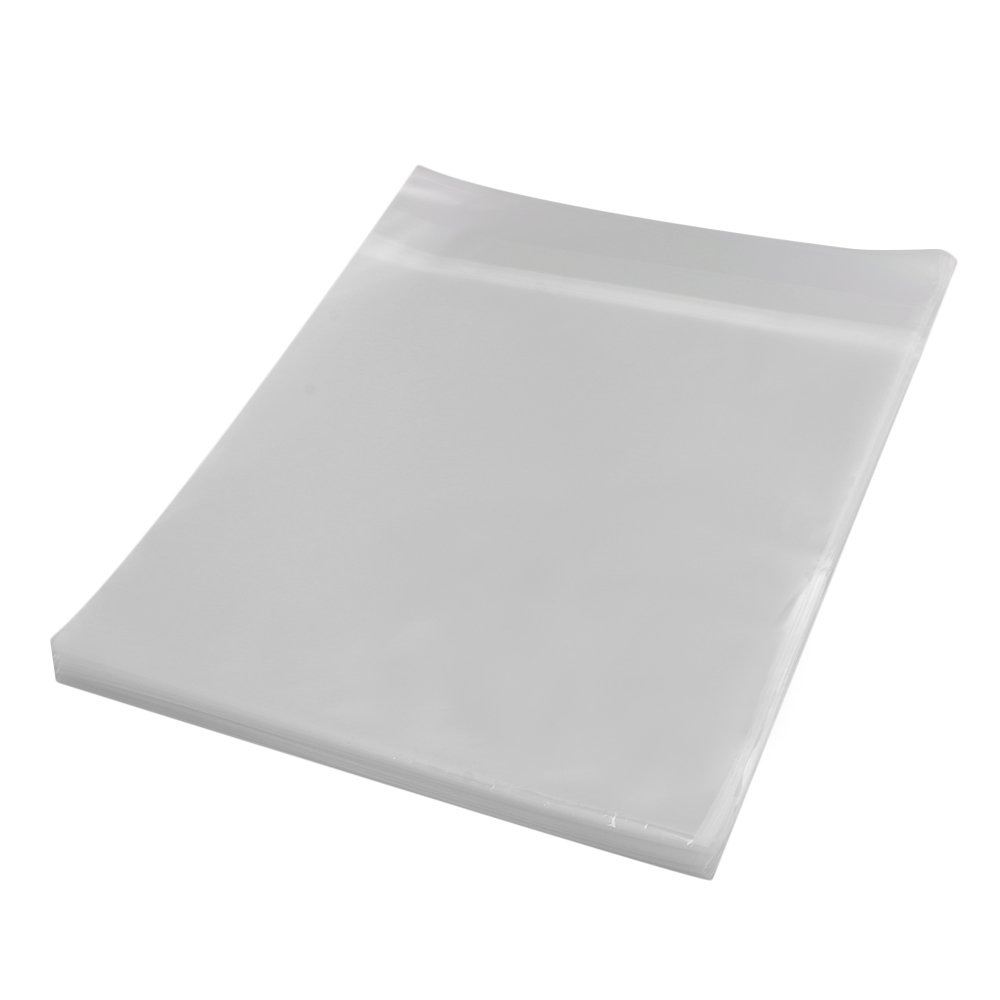 BQLZR 12 Inches Plastic Thickening Transparent LP Vinyl Record Outer Sleeves Envelope Covers Anti-static Pack of 100 M4180410017