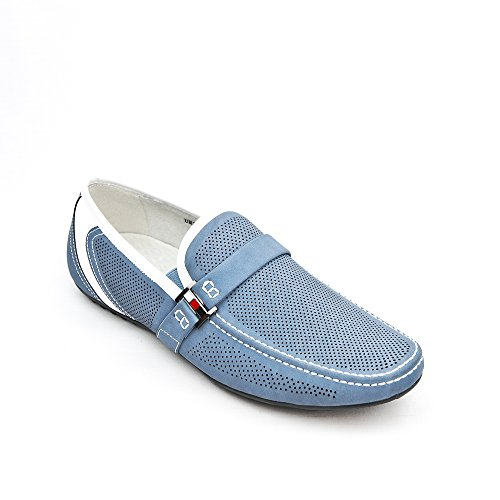 azul gris DESIGNVincent Hombre Mocasín II Uomo qR71w