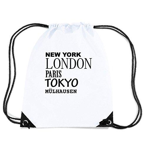 JOllify MÜLHAUSEN Turnbeutel Tasche GYM3342 Design: New York, London, Paris, Tokyo