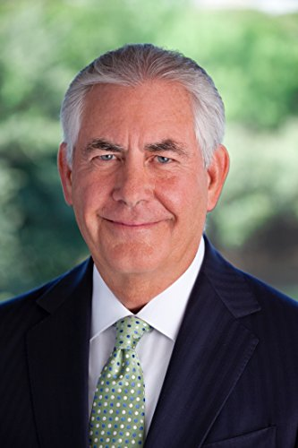 Rex Tillerson, Trump Administration, Secretary of State , 8x10 Photo Print