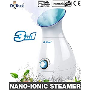 Dr Trust USA 3-in-1 facial Steamer Vaporizer & Humidifier