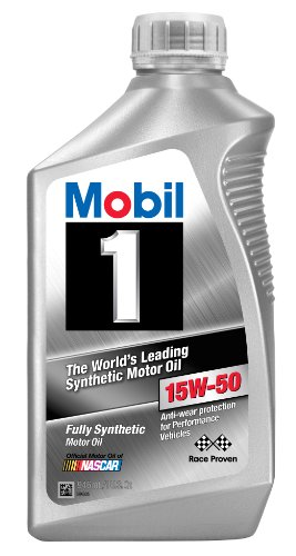 Mobil 1 98jm55 15w 50 synthetic motor oil 1 quart for Motor oil weight meaning