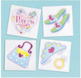 Princess Tiara Ring Kids Party Favor