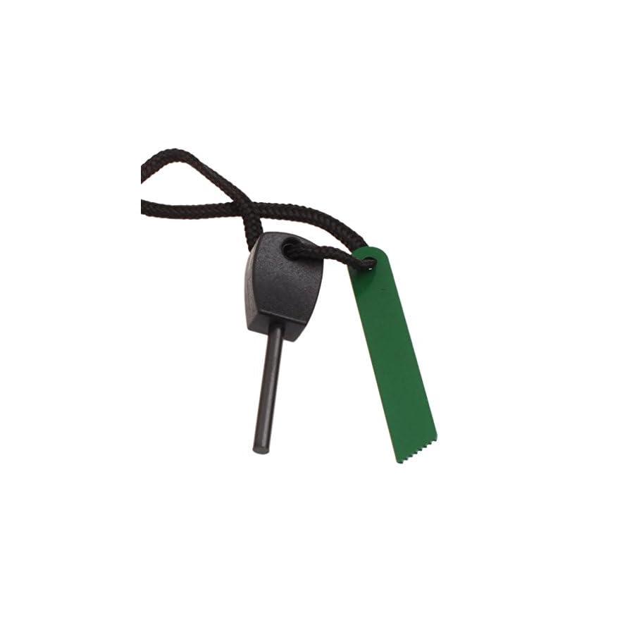 Yoyorule Outdoor Survival Magnesium Flints Scraper Stone Fire Starter Lighter