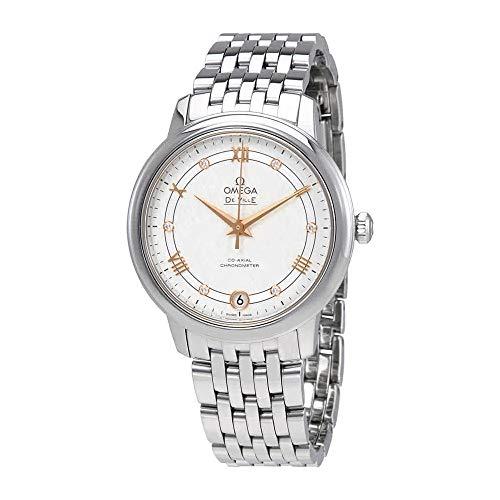 Wrist Automatic Watch Omega (Omega De Ville Prestige Automatic Ladies Watch 424.10.33.20.52.001)