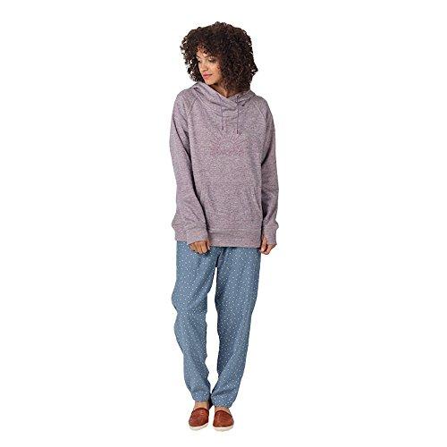 Burton Women's Quartz Pullover Hoodie (Cavas/Mulled Grape ()