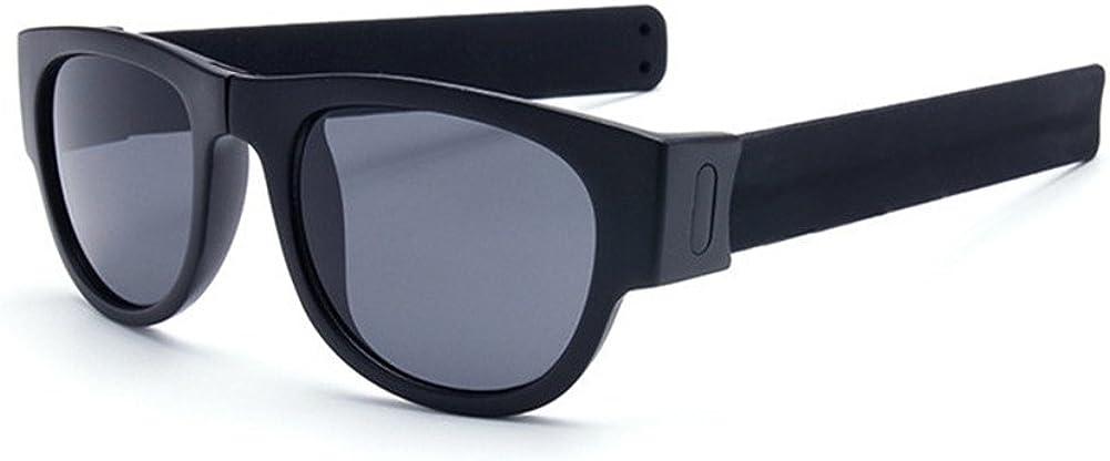 DAUCO Occhiali da sole pieghevoli polarizzati di modo e disegno di personalit/à UV400 Protezione per gli sport esterni che cicrano o guidano i vetri casuali