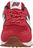 New Balance Baby 574 V1 Sport Lace-Up Sneaker, Team