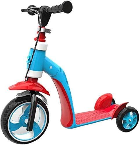 RENKUNDE スクータープーリー子供が座って乗ることができる多機能カースライディング1-6歳を座ることができます スクーター (Color : Style1)