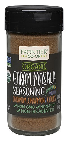 Frontier Natural Products, Organic Garam Masala, Salt-Free Blend, 2 oz (56 g) by Frontier Herb