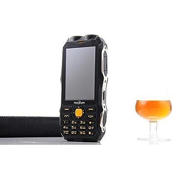Fusutonus 3.5 pouces Téléphone de Chantier, Rugged Téléphone Antichoc,  Chantier 4 en 1 Etanche 102ad3a070a
