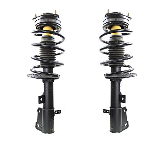 Detroit Axle - Complete Front Struts & Coil Spring w/Mount Assembly for 2008-2016 Chrysler Town&Country - [2008-2017 Dodge Grand Caravan]