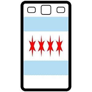 Chicago Illinois IL City State Flag Black Samsung Galaxy S3 i9300 Cell Phone Case - Cover