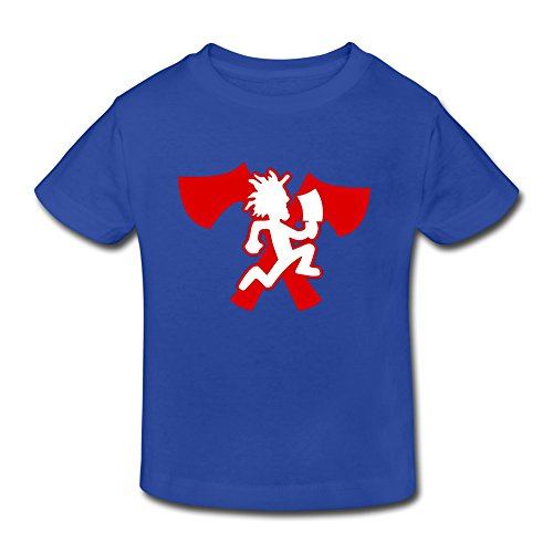 SHUA BABY Kid's Toddler Hatchetman Icp T-Shirt Age 2-6 RoyalBlue 4 Toddler (Mafia Toddler T-shirt)