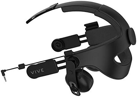 HTC VIVE HS 600, Deluxe Audio Cinta para la cabeza, Negro