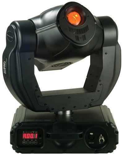250w Remote (American DJ Accu Spot Pro 250w Discharge Moving Head with Remote Focus and Prism)