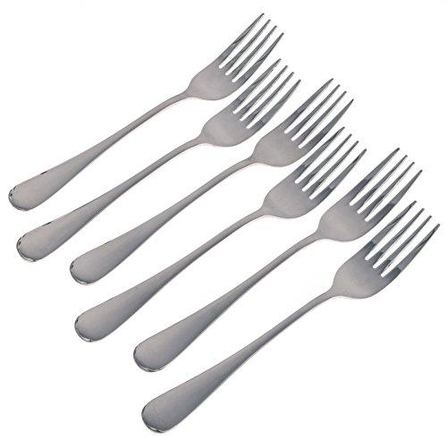 6 Dessert Forks - 1