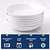 Y YHY Pasta Bowls,Large Salad Serving Bowls,White