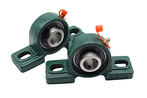 Bearing 3/4 Inch Blocks - Eowpower 2 Pieces UCP204-12 Pillow Block Bearing 3/4