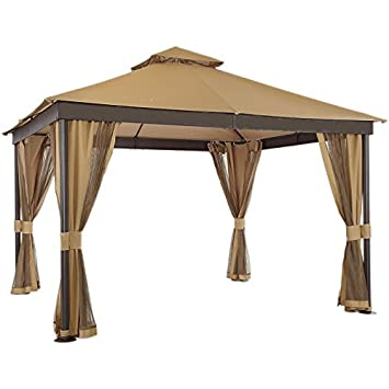 Sierra Vista Gazebo Replacement Canopy - RipLock 350  sc 1 st  Amazon.com & Amazon.com : Sierra Vista Gazebo Replacement Canopy - RipLock 350 ...