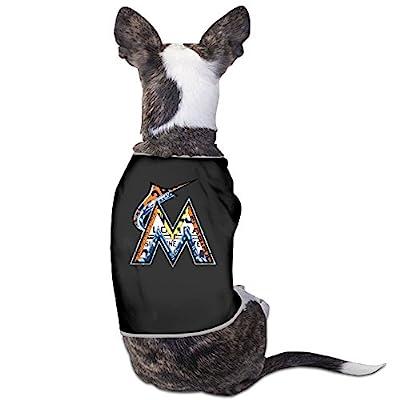 Cool Miami Marlins Baseball Team Pet Dog T Shirt.
