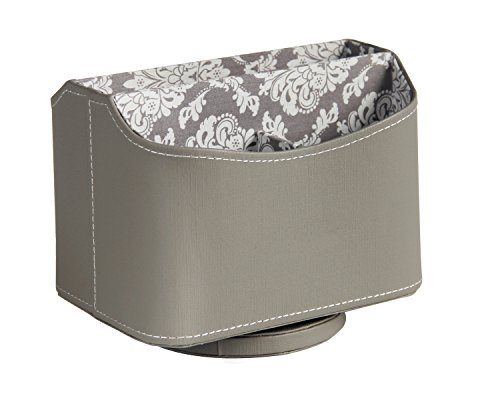 Ms Box Storage Leather Spinning Organizer