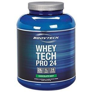 Amazon Com Bodytech Whey Tech Pro 24 Chocolate Mint 5 Pound