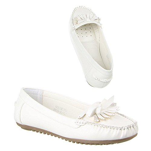Ital-Design Women's Low Top White - WHITE jpUkvavok0