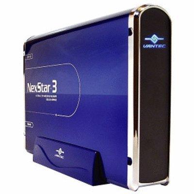 (Vantec NexStar-3 NST-360U2-BL External 3.5 inch Hard Drive Enclosure (Blue))