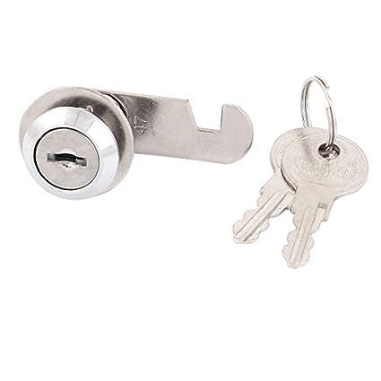 La puerta del gabinete de seguridad del buzón del cajón tubular cerradura de la leva Camlock