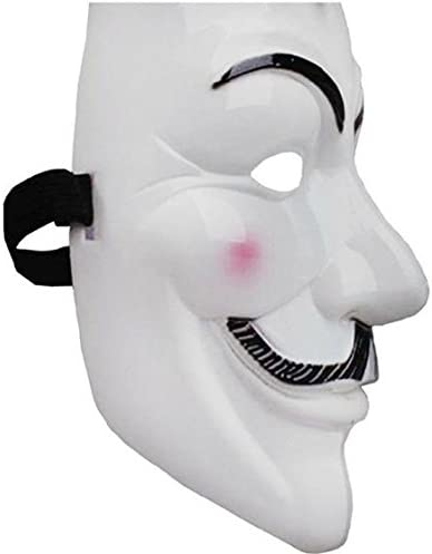 V for Vendetta Mask Guy Fawkes Anonymous fancy Cosplay costume ...