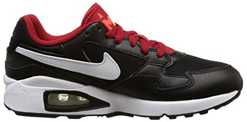 Multicolor GS St MAX Nike Black White de Hombre Crmsn Air Zapatillas Rd brght Running gym fWT18n