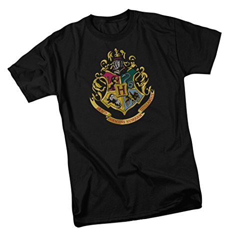 Hogwarts Crest -- Harry Potter Youth T-Shirt, Youth Large (Harry Potter Shirt Stone Chamber)