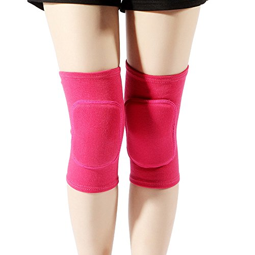LZEEM Soft Kneepad for Dancer,Adult Biking Football Soccer Tennis Workout Climbing Exercise Work Yoga Pole Dance Volleyball Kids Roller Skating Knee Brace Sleeve with Sponge from LZEEM