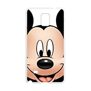 Mickey and Minnie Samsung Galaxy Note 4 Cell Phone Case White xlb-226552