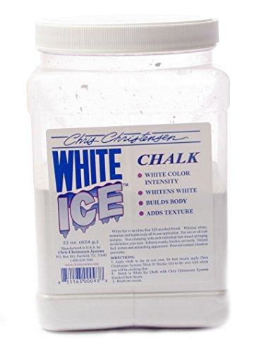 Chris Christensen White Ice Chalk 22oz