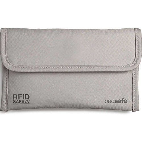 Pacsafe Luggage RFID Safe 50 Passport Protector, Neutral grey