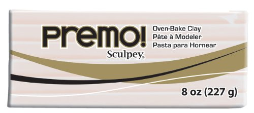 - Premo Clay 8 Ounces-Translucent